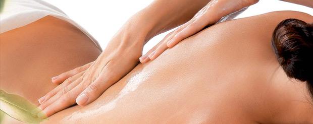 Fotografia podczas masażu wyszczuplającego